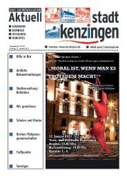 Ausgabe 02 2013 - Kenzingen