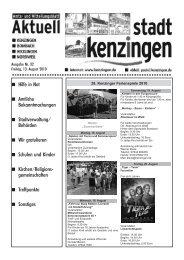 Ausgabe 32 2010 - Kenzingen