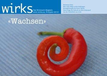 wirks  | Das Mutmach-Magazin | Fruehjahr 2013