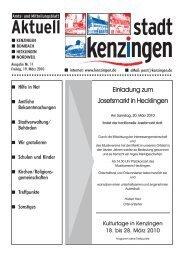 Ausgabe 11 2010 - Kenzingen