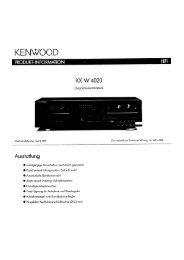 KX-W4020 - Kenwood