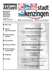Ausgabe 12 2010 - Kenzingen