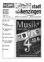Ausgabe 23 2010 - Kenzingen