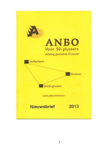 Nieuwsbrief april 2013 - Anbo