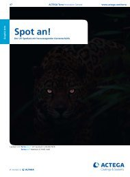 Spot an! - ACTEGA
