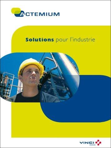 Solutions pour l'industrie - Actemium