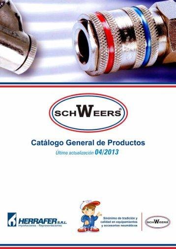 Catálogo general de productos SCHWEERS - HERRAFER SRL