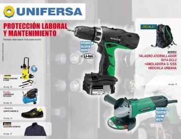 PROTECCIÓN LABORAL Y MANTENIMIENTO - Unifersa.es