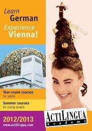 German Vienna! - Actilingua Academy