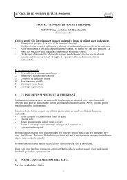 PROSPECT: INFORMAŢII PENTRU UTILIZATOR REFEN 75 mg ...
