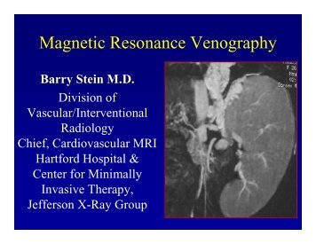 Magnetic Resonance Venography