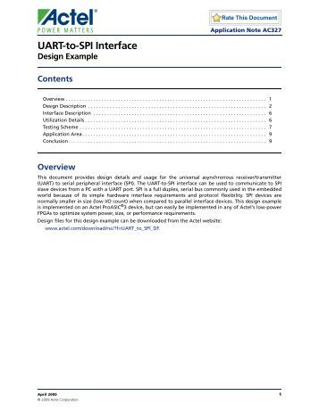 Uicp uart for Interface control document template