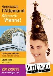 l'Allemand Vienne! - Actilingua Academy