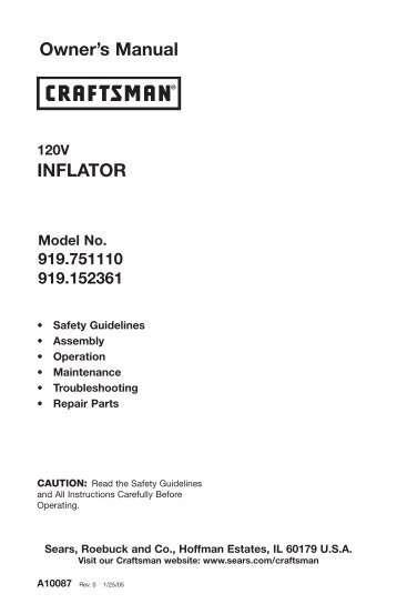 Instruction Manual - After Sales