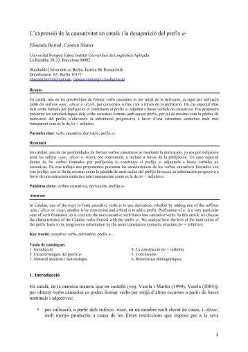 Normes per la presentaci de comunicacions escrites - Carsten Sinner