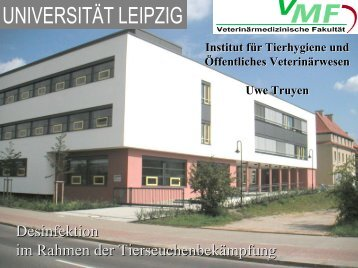 Desinfektion im Rahmen der Tierseuchenbekämpfung - Kesla.de