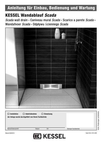 EBA Wandablauf Scada Stand 3 - KESSEL