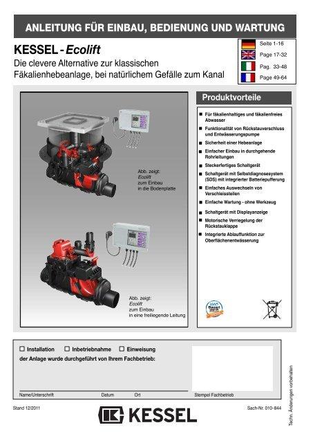 Kessel Staufix 2x Rückstauverschluss DN 100 Rückstausicherung Rückstauklappe