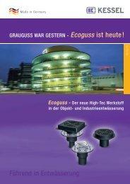 GRAUGUSS WAR GESTERN - Ecoguss ist heute ! - Kessel