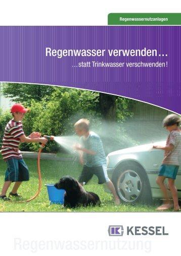 Regenwassernutzanlagen - Kessel