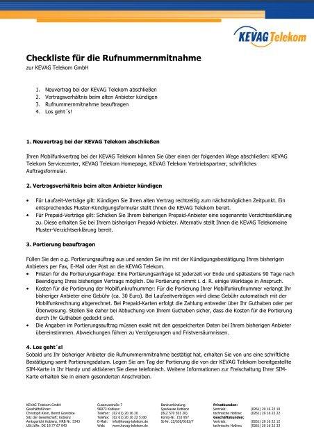 Telekom Karte Aktivieren.Checkliste Für Die Rufnu