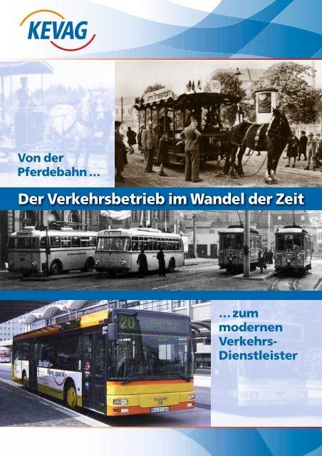 Der Verkehrsbetrieb im Wandel der Zeit - kevag