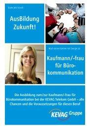 Kaufmann für Bürokommunikation - kevag