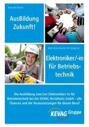 Elektroniker für Betriebstechnik - kevag