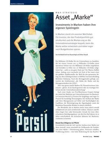 "Asset ""Marke"" - KEYLENS Management Consultants"