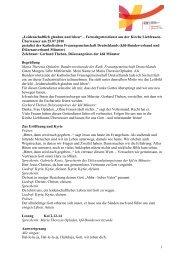 Texte vom 25.07.2010, neu - Die kfd