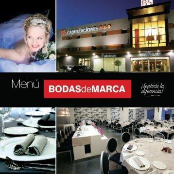 Descagar Menú Real en PDF - Una celebración de bodas redonda