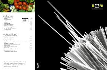 vegetariano celiacos - Il Capo