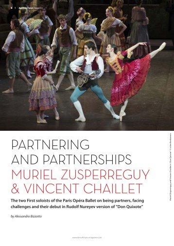 PARTNERING AND PARTNERSHIPS MURIEL ZUSPERREGUY & VINCENT CHAILLET