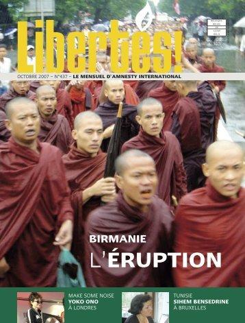Téléchargez intégralement en PDF le Dossier spécial ... - amnesty.be
