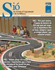 Sió 551. Gener 2010 - Revista Sió