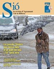 Sió 553. Març 2010 - Revista Sió