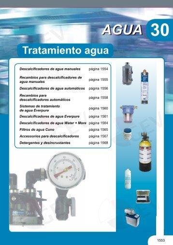 Tratamiento agua - Gev-online.es