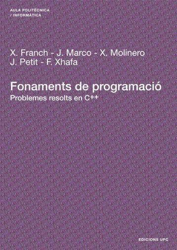 Fonaments de Programació --- Problemes resolts - e-BUC
