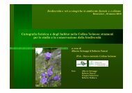 Cartografia floristica e degli habitat nella Collina Torinese: strumenti ...