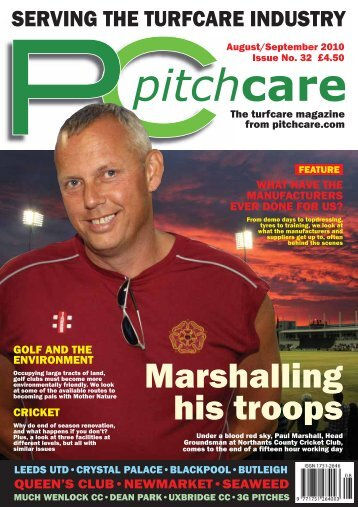 Marshalling his troops - Pitchcare