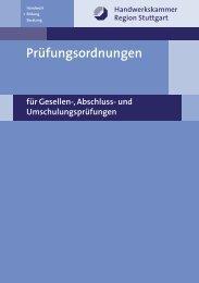 Prüfungsordnungen - Kfz-Innung Stuttgart
