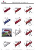 SWISS ARMY KNIVES CUTLERY TIMEPIECES TRAVEL GEAR ... - Seite 7