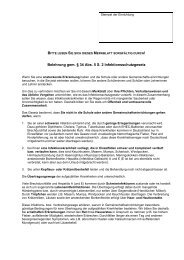 Infektionsschutzgesetz-Merkblatt für Schülerinnen und Schüler