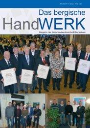 Ausgabe 01 / 2013 - Die Kreishandwerkerschaften