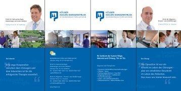 Kölner Magen-Darmzentrum - Krankenhaus Porz am Rhein
