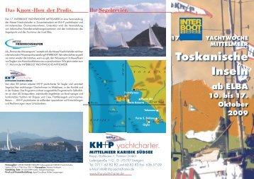 Toskanische Inseln - KH+P Yachtcharter