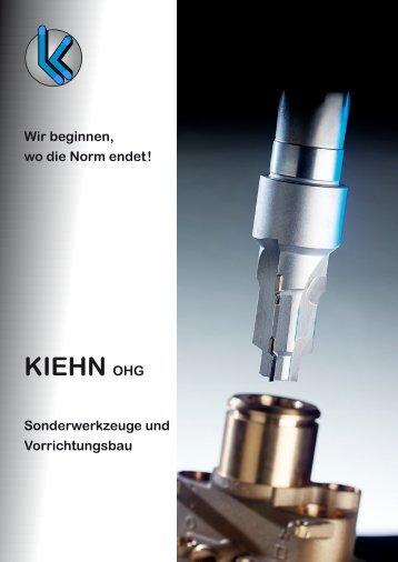 KIEHN OHG - Kiehn Sonderwerkzeuge und Vorrichtungsbau. Wir ...