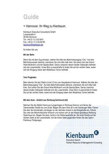 Guide Hannover - Kienbaum