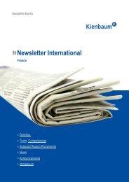 Newsletter International France – » News - Kienbaum