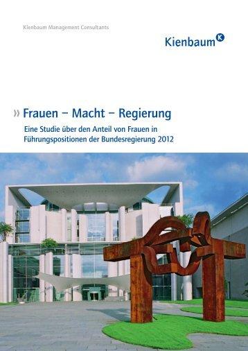 Studie: FRAUEN - MACHT - REGIERUNG - Kienbaum